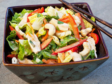 Chinese Chicken Salad with Sesame Ginger Vinaigrette Recipe