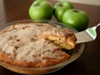 Apple-coffee-cake