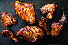 Barbecued Chicken on the Grill Recipe