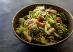 Brussels Sprouts with Bacon and Chestnuts Recipe