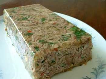 Jelled-turkey-loaf