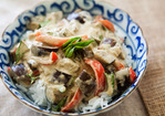 Eggplant Green Curry Recipe