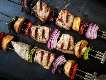 Tuna-kabobs