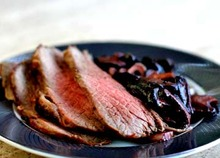 Marinated Tri-Tip Roast with Mushrooms and Garlic Recipe