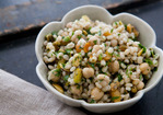 Moroccan Chickpea Barley Salad Recipe