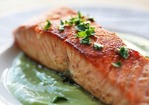 Pan Seared Salmon with Avocado Remoulade Recipe