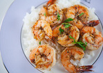 Peppery Garlic Prawns Recipe
