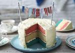 Jubilee bunting cake Recipe