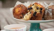 Lemon and blueberry muffins Recipe