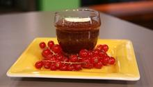 Chocolate and tahini pudding Recipe