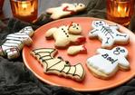 Scary Halloween cookies Recipe