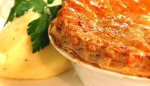 Corned beef pot pies Recipe
