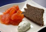 Tequila-cured salmon Recipe