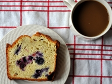 Blueberry Lemon Pound Cake Recipe