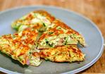 zucchini, ham and ricotta fritters Recipe
