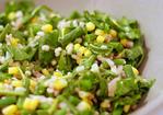 barley, corn and haricot vert salad Recipe