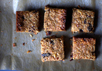 thick, chewy granola bars Recipe