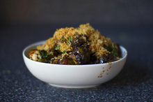 balsamic braised brussels with pancetta Recipe