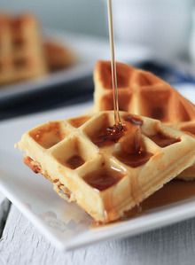 Maple Chip Waffles Recipe