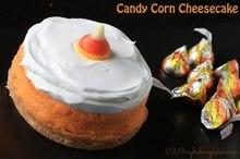 Candy Corn Cheesecake Recipe
