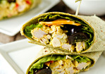 Curried Chicken Salad Wraps Recipe
