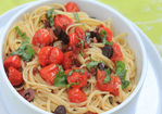 Linguine With Oven-Roasted Tomato Puttanesca Recipe
