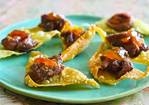 Korean BBQ Beef on Crispy Wonton Chip Recipe