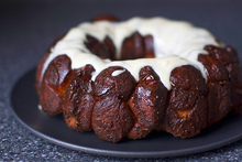 monkey bread with cream cheese glaze Recipe