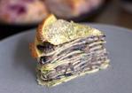 mushroom crêpe cake Recipe