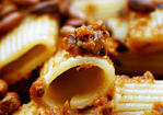 rigatoni with eggplant puree Recipe