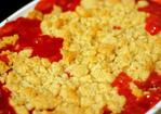 strawberry-rhubarb crumble Recipe