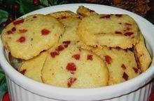 Prosciutto & Cheddar Shortbreads Recipe