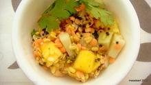 Summertime Lentil Salad With Mango Recipe