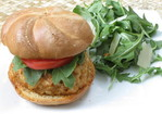 Spicy Shrimp Chorizo Burgers Recipe