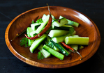 Jeffrey Alford & Naomi Duguid's Spicy Cucumber Salad Recipe