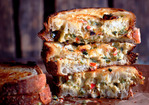 Grilled Chili-Cheese Spread Sandwiches Recipe