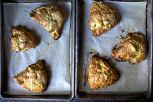 apple and cheddar scones Recipe