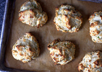 blue cheese scallion drop biscuits Recipe