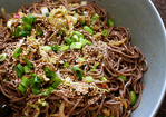 spicy soba noodles with shiitakes Recipe