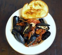 Mussels in Chorizo and Tomato Broth Recipe