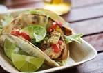 Grilled Fish Tacos with Roasted Corn and Pepitas Recipe