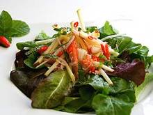 Crab and Fuji Apple Salad with Thai Dressing Recipe