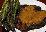 Spanish Spice Rubbed Rib-Eye With Sherry Vinegar Steak Sauce Recipe