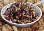 Spicy Fruit Salsa With Cinnamon Sugar Pita Chips Recipe
