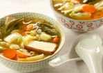 Miso Soup with Garlic and Ginger Recipe