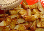 Spicy Indian Potato Wedges Recipe