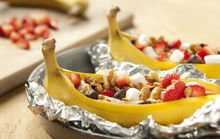 Grilled Bananas with Sweet Toppings Recipe