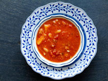 Tomato, White Bean, Bacon Soup Recipe