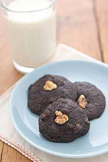 Chocolate Chocolate-Chip Cookies Recipe