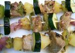 The Houdini's Magical Tuna Kabobs With Pineapple Glaze Recipe